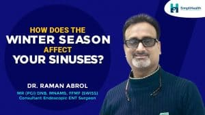 How does the winter season affect your sinuses?
